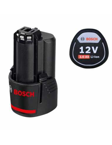 BOSCH Battery GBA 12V 3,0 Ah