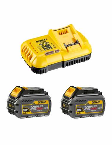 DeWALT Power Set FlexVolt (2 x 54V/18V 6,0 Ah + DCB118)