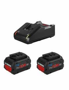 Power Set BOSCH (2 x 18V 8,0 Ah ProCORE + GAL18V-40)