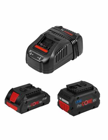BOSCH Power Set (1 x 18V 4,0 Ah ProCore + 1 x 18V 8,0 Ah
