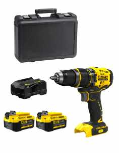 Hammer Drill STANLEY FatMax SFMCD721M2K (2 x 4,0 Ah + Charger + Carrying Case)