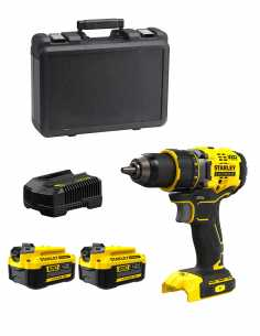 Drill Driver STANLEY FatMax SFMCD720M2K (2 x 4,0 Ah + Charger + Carrying Case)
