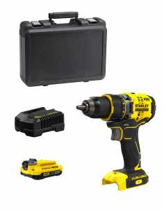 Drill Driver STANLEY FatMax SFMCD720D1K (1 x 2,0 Ah + Charger + Carrying Case)