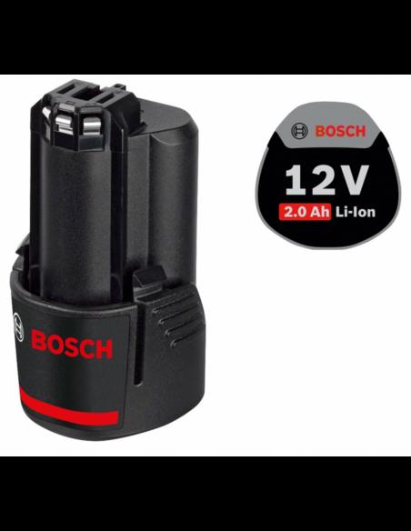 Visseuse à Chocs BOSCH GDR 12V-105 (1 x 2,0 Ah + GAL12V-40 +