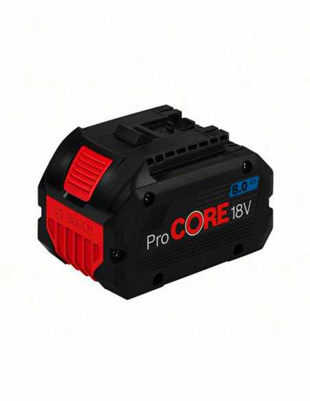 Perforateur BOSCH GBH 18V-26F (1 x 8,0 Ah ProCore + GAL1880CV +
