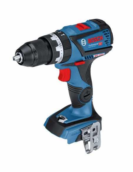 Hammer Drill BOSCH GSB 18V-60C (2 x 5,0 Ah + GAL1880CV + L-Boxx