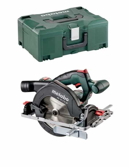 Circular Saw METABO KS 18 LTX 57 (Body Only + MetaLoc)