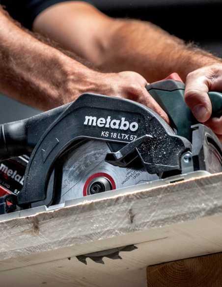 Scie Circulaire METABO KS 18 LTX 57 (Machine Seule + MetaLoc)
