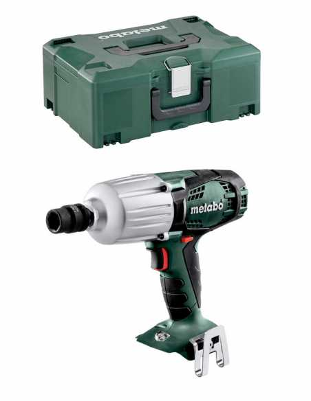 Impact Driver METABO SSW 18 LTX 600 (Body Only + MetaLoc)