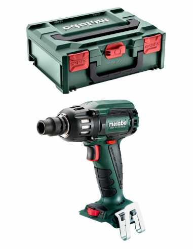 Impact Driver METABO SSW 18 LTX 400 BL (Body Only + metaBOX 145)
