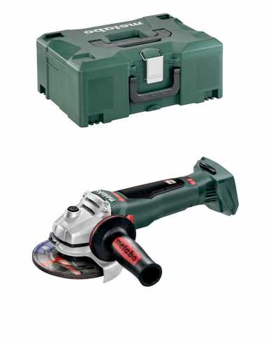 Meuleuse d'Angle METABO WB 18 LTX BL 125 Quick (Machine Seule +