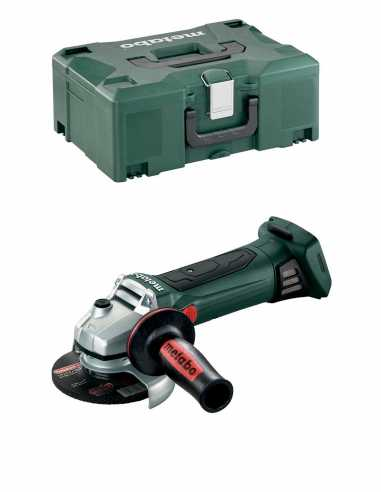 Angle Grinder METABO W 18 LTX 125 Quick (Body Only + MetaLoc)