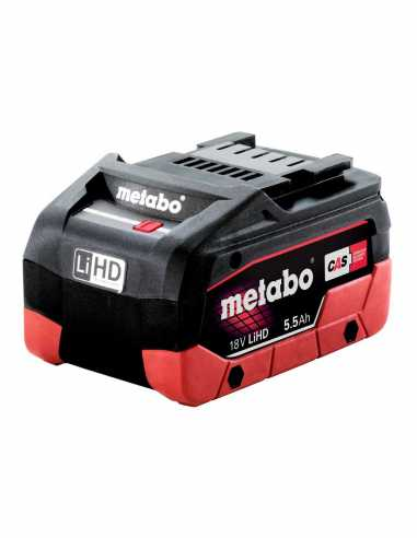Battery METABO 18V 5,5 Ah LiHD