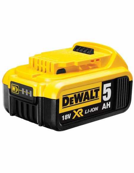 Handkreissäge DeWALT DCS391P1 (1 x 5,0 Ah + DCB115 + TSTAK VI)
