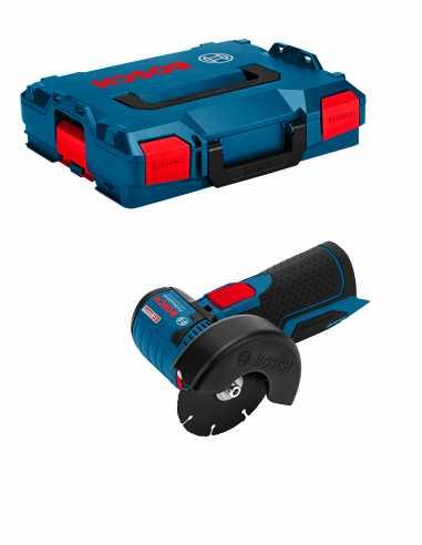 Amoladora Angular BOSCH GWS 12V-76 (Cuerpo solo + L-Boxx 102)