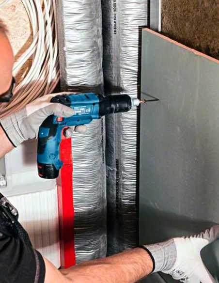 Drywall Screwdriver BOSCH GTB 12V-11 (2 x 6,0 Ah + GAL12V-40 +