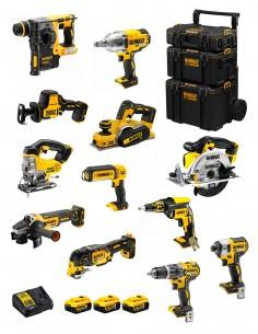 DeWALT Kit DWK1202 (DCD796+DCH273+DCG405+DCF887+DCF889H+DCS331+DCS391+ DCS355+DCP580+DCS369+DCL050+DCF620+3x5,0Ah+DCB115+Caddy)
