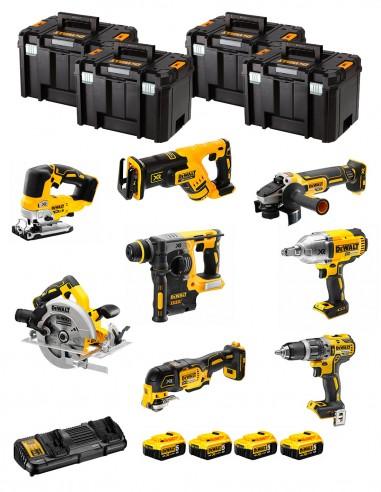DeWALT Kit DCK865P4T (DCS367 + DCH273 + DCD796 + DCS334 +