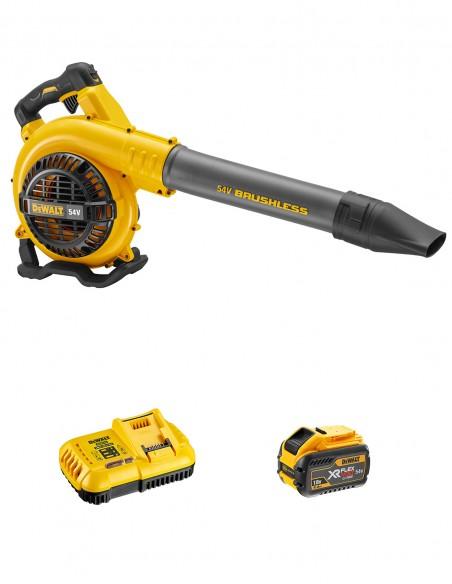 Blower DeWALT DCM572X1 FlexVolt (1 x 54V/18V 9,0 Ah + DCB118 +