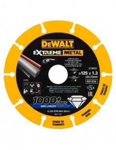Disco de corte con borde diamantado Extreme Metal DeWALT DT40252-QZ (Ø 125 x 22.3 mm)
