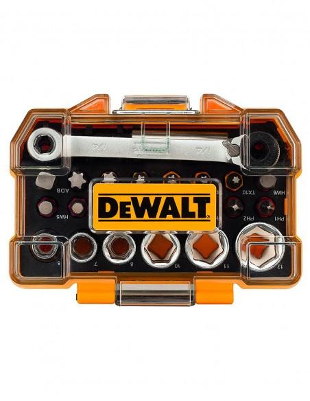 Schrauber Bit-und Ratschen-Set DeWALT DT71516-QZ (24 stücke)