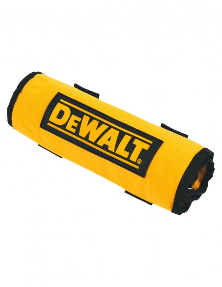 Set of 98 pieces roll-up for drilling and screwdriving DeWALT
