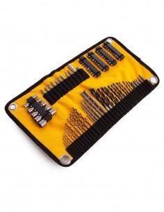 Juego de 98 piezas enrollable para taladrar y atornillar DeWALT DT7981-QZ