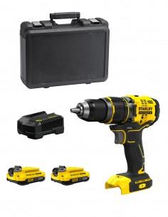 Hammer Drill STANLEY FatMax SFMCD721D2K (2 x 2,0 Ah + Charger + Carrying Case)