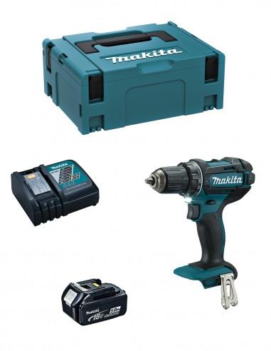 Drill Driver MAKITA DDF482RTJ1 (1 x 5,0 Ah + DC18RC + MAKPAC 2)