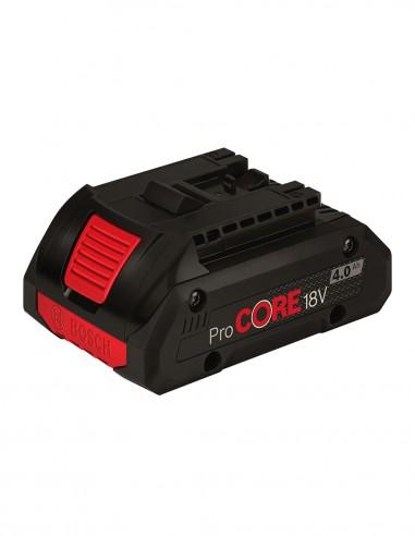 Batteria BOSCH GBA 18V 4,0 Ah ProCORE