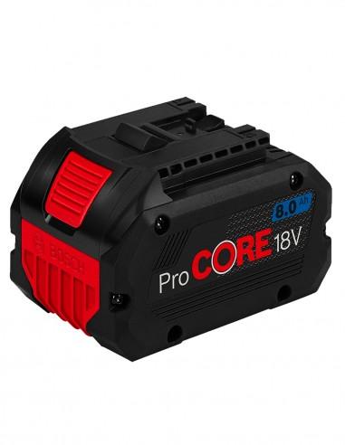 Batteria BOSCH GBA 18V 8,0 Ah ProCORE
