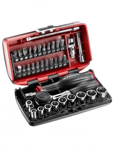 "Set of bits and socket wrenches 1/4"" FACOM R.360NANOPB - 38"