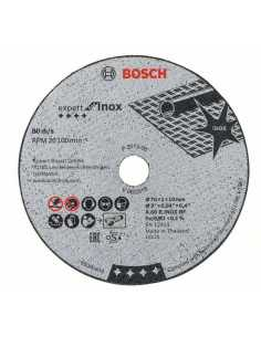 BOSCH Discos abrasivos Set de 5 uds. para GWS 12V-76 de 76mm (2 608 601 520)