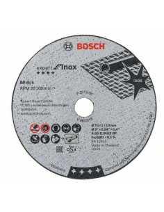BOSCH Set de 5 Disques Experts Abrasifs pour GWS 12V-76 de 76mm (2 608 601 520)