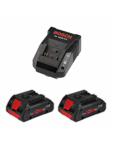 BOSCH Power Set (2 x 18V 4,0 Ah ProCore + AL1820CV)