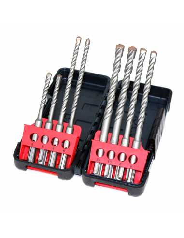BOSCH Brocas Toughbox Set 8 Uds: 6, 8, 10 mm.