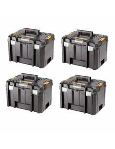 Pack 4 Carrying Cases DeWALT TSTAK VI
