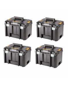 Pack mit 4 Koffers DeWALT TSTAK VI