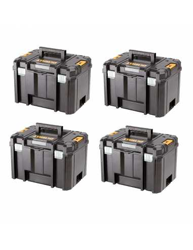 DeWALT Pack 4 Coffrets TSTAK VI