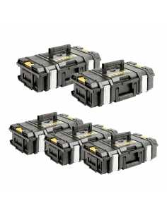 DeWALT Pack 5 Cajas de herramientas DS150 (1-70-321)