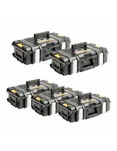 DeWALT Pack 5 Cajas de herramientas DS150