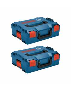 Pack 2 Carrying Cases BOSCH L-Boxx 136