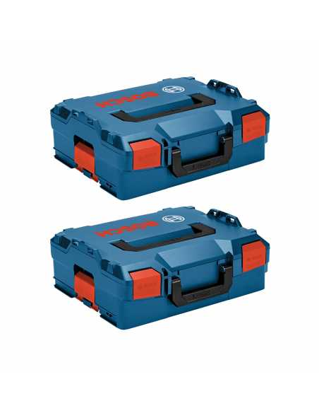 BOSCH Pack 2 Carrying Cases L-Boxx 136