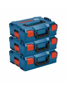 Pack of 3 Carrying Cases BOSCH L-Boxx 136