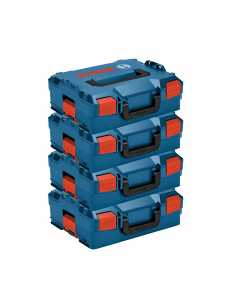 Pack of 4 Carrying Cases BOSCH L-Boxx 136