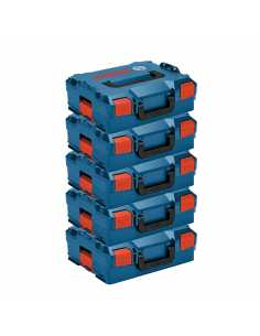 Pack de 5 Maletines apilables BOSCH L-Boxx 136