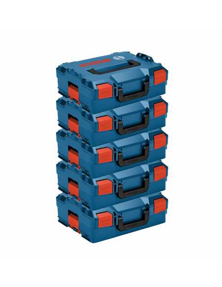 BOSCH Pack 5 Carrying Cases L-Boxx 136