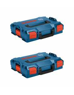 Pack of 2 Carrying Cases BOSCH L-Boxx 102