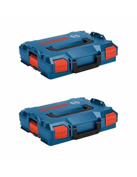 BOSCH Pack 2 Cajas apilables L-Boxx 102