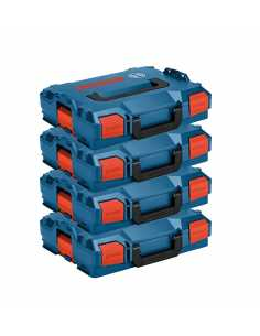 Pack of 4 Carrying Cases BOSCH L-Boxx 102